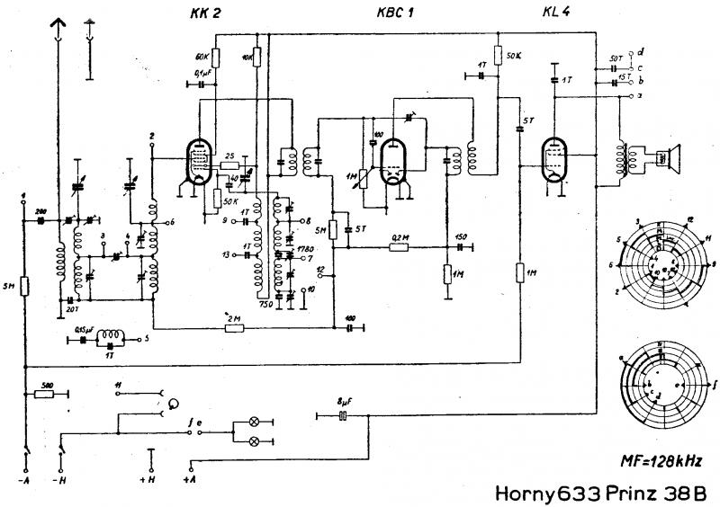 Hornyphon Prinz 38B. E633